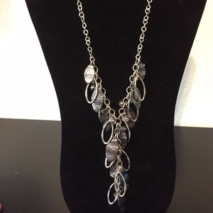 Silver Statement Necklace. Add this to your bundle